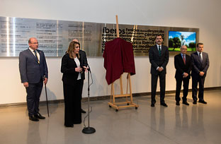 Intervención de Susana Díaz durante la inauguración del Museo Ibero
