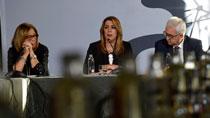 Intervención de Díaz en la reunión del Patronato de Corporación Tecnológica de Andalucía