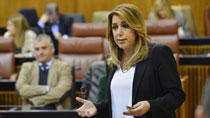 Díaz adelanta que la nueva Renta Mínima de Inserción Social entrará en vigor el 1 de enero de 2018