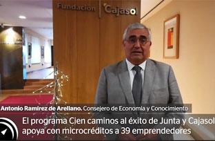 Declaraciones de Antonio Ramírez de Arellano sobre el programa Cien caminos al éxito
