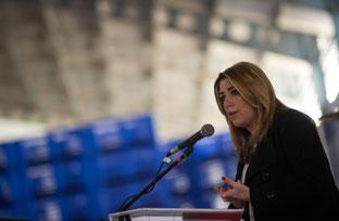 Susana Díaz resalta la evolución de las explotaciones agrarias andaluzas en los últimos 40 años