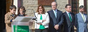 Susana Díaz destaca que la reforma del Estatuto de Andalucía ha sido el