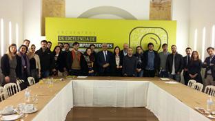 Ramírez de Arellano clausuró el Encuentro de Excelencia de Jóvenes Emprendedores.