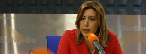 Susana Díaz destaca que el 28F es un motivo de orgullo y una oportunidad para seguir construyendo