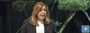 Susana Díaz reivindica el legado del 28F para construir una Andalucía mejor y en igualdad