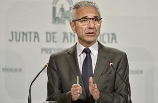 El portavoz del Gobierno andaluz realizó una valoración de los cien primeros días del Ejecutivo central.