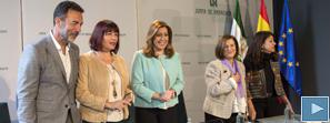 Susana Díaz destaca el millón de mujeres atendidas en los diez años de vigencia de la Ley andaluza de Igualdad