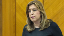 """La presidenta de la Junta defiende un modelo fiscal """"progresivo, justo y solidario"""" para Andalucía"""