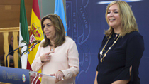 Intervención de la presidenta de la Junta durante su visita al Ayuntamiento de Motril (audio íntegro)