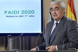 El consejero de Economía detalló la previsión de ejecución del PAIDI durante el año 2017 tras la reunión del Consejo de Gobierno.
