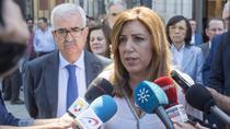 Susana Díaz traslada su pésame, apoyo y cariño a las familias de las víctimas del atentado de Manchester