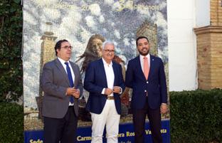 El vicepresidente de la Junta y consejero de la Presidencia, Administración Local y Memoria Democrática, Manuel Jiménez Barrios, inauguró los cursos de verano 2017 de la Universidad Pablo de Olavide.