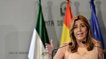 Intervención de la presidenta de la Junta en la toma de posesión de la rectora de la Universidad de Huelva
