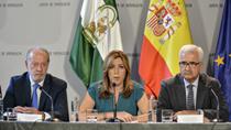 Intervención de la presidenta de la Junta en la firma del convenio con las diputaciones sobre el (PFEA)
