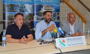Fernández, en Motril, durante el balance del Plan de Acción de la Costa Tropical.