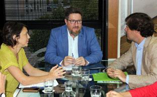 Sánchez Haro se reunió con la Asociación Valor Ecológico.