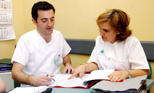 Profesionales sanitarios andaluces.