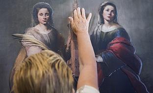 \u0027Hoy toca el Prado\u0027, hasta el 26 de noviembre en el Museo de Bellas Artes de Sevilla. (Foto EFE)