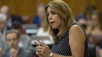 Díaz resalta las medidas de Andalucía para crear empleo y cambiar el modelo productivo