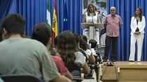 Intervención de Díaz en la inauguración del curso escolar de Secundaria en el IES Juan de Mairena