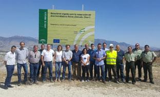Fiscal visitó la zona acompañado por los alcaldes de los municipios.