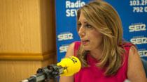 Entrevista de Susana Díaz en La Ventana Andalucía de la Cadena SER