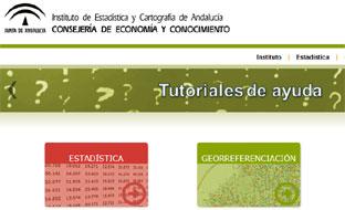 Web del Instituto de Estadística y Cartografía de Andalucía.