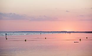 Playas de Punta Umbría, en la provincia de Huelva.