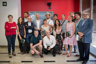 Vázquez presentó la programación del Teatro Alhambra.
