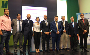 Sánchez Haro asistió a la jornada de internacionalización de Landaluz.
