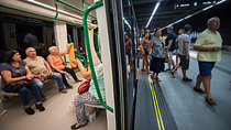 Una previsión de 30.000 viajeros diarios en el primer año de vida del metro