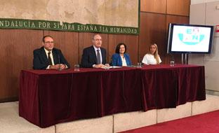 Sánchez Rubio intervino en el XI Encuentro Andaluz de Participación Ciudadana.