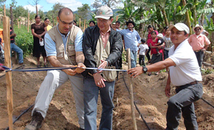 Proyecto de cooperación de Andalucía en Honduras.