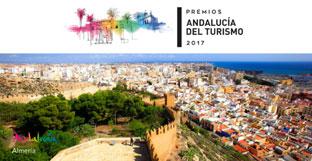 Cartel de los Premios Andalucía del Turismo 2017.