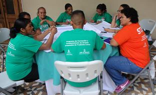 Uno de los proyectos de cooperación internacional llevados a cabo por Andalucía en Honduras.