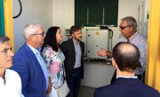 Fiscal visitó las nuevas infraestructuras de abastecimiento de agua.