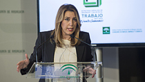 Intervención de Susana Díaz en la presentación de la Estrategia Andaluza de Seguridad y Salud en el Trabajo 2017-2020