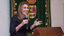Intervención de Susana Díaz en su visita institucional a Los Molares