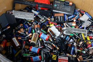 En Andalucía durante 2016 se recogieron 564 toneladas de residuos de pilas y acumuladores portátiles.