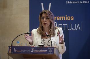 Intervención de Susana Díaz en la entrega de los V Premios del Parque Científico Tecnológico Cartuja