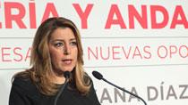 Díaz anuncia que Andalucía alcanzará este año el PIB más elevado de su historia