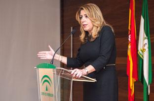 La presidenta de la Junta reclama la presencia de Andalucía en las decisiones sobre el Brexit