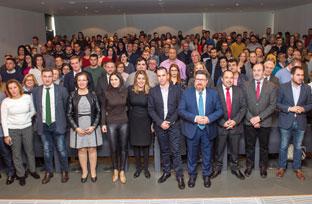 Díaz subraya que el relevo generacional del campo andaluz consolida su liderazgo