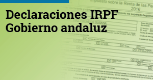 Declaraciones IRPF Gobierno andaluz Versión 2018 2 col