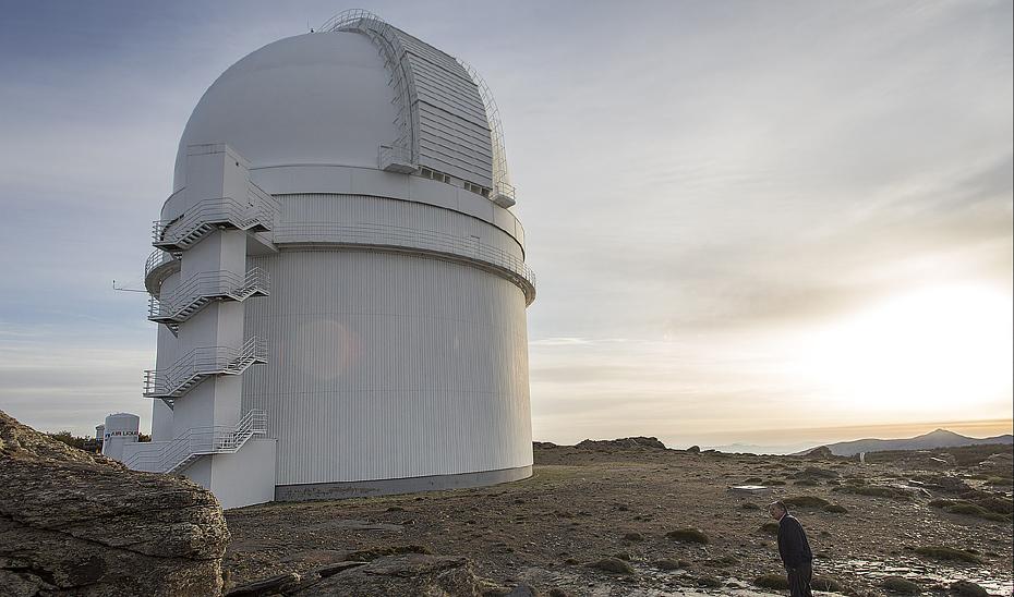El Centro Astronómico de Calar Alto (Almería) también forma parte de la red andaluza de ITCS.
