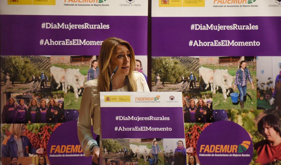 Intervención de Susana Díaz en el acto de lectura del manifiesto con motivo del Día Internacional de las Mujeres Rurales