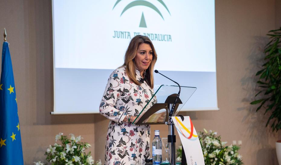 Intervención de Susana Díaz en la entrega del VIII Premio de Investigación CIC Cartuja Ebro Foods 2017