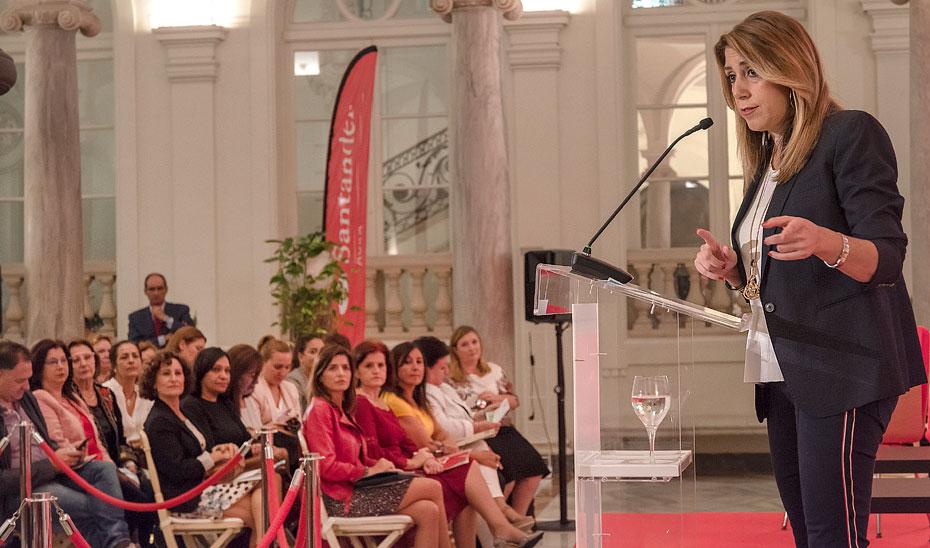 Intervención de las Presidenta de la Junta de Andalucía en las jornadas con motivo del Día Internacional de las Mujeres Rurales