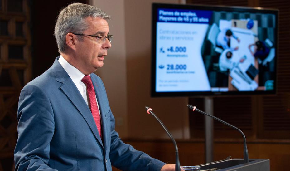 Blanco informa sobre la ampliación con 58 millones más para los planes locales de empleo de mayores de 45 y 55 años