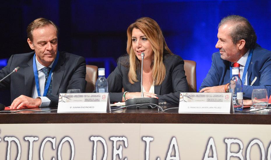 Intervención de Susana Díaz en el acto de inauguración del 14º Congreso Jurídico de la Abogacía del Colegio de Abogados de Málaga
